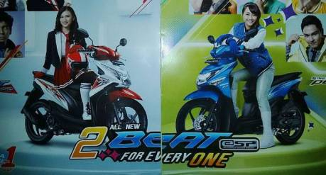 Honda BEAT ESP dan BEAT POP