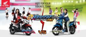 Honda Beat ESP dan Honda Beat POP JKT 48