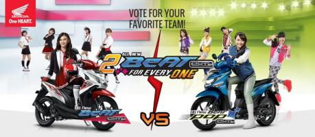 Honda Beat ESP dan Honda Beat POP JKT 48