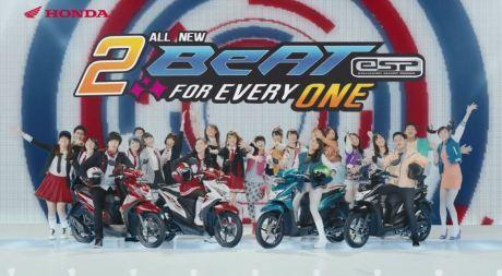 Honda Beat ESP JKT48 TVC