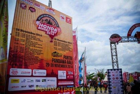 Honda Bikers Day 2014 Pantai Pandawa Bali_-4
