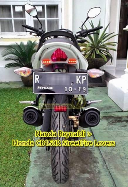 Honda CB150R double knalpot