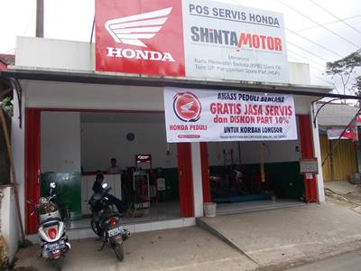 Honda Gelar Program CSR Peduli Bencana Tanah Longsor Banjarnegara Photo (4)