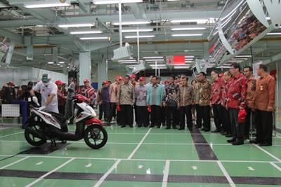 Honda Indonesia Menjadi  Produsen Sepeda Motor Terbesar sedunia 3