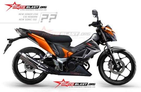 Honda Sonic reborn K56 Motoblast  2