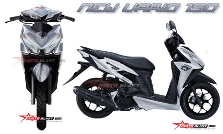 Honda Vario 150 motoblast