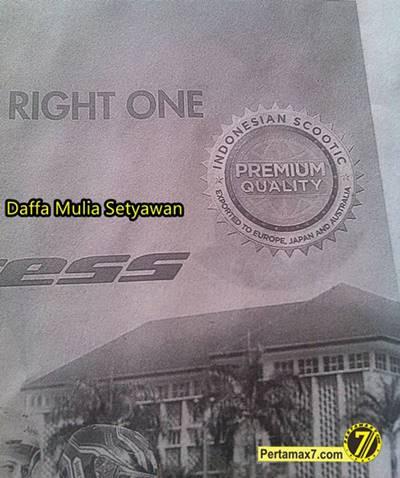 Iklan Suzuki Address di Koran Tonjolkan Matic Global Eropa Australia dan Jepang 4