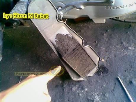 Jangan telat Ganti Filter udara motor matic 3