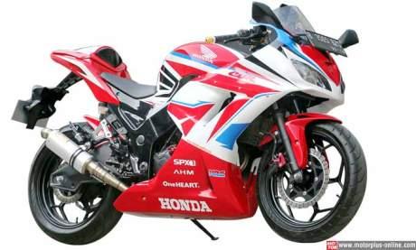 Kawasaki Ninja 250R modip Honda CBR 250