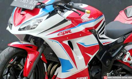 Kawasaki Ninja 250R modip Honda CBR
