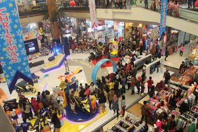 Keramaian pengunjung di launching New Mio M3 125 di Tangerang (2)