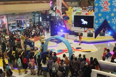 Keramaian pengunjung di launching New Mio M3 125 di Tangerang (3)