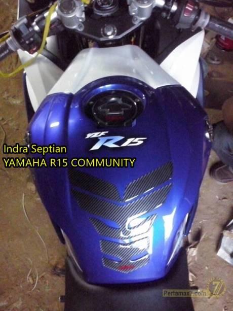 Kondom tangki yamaha R15 ala Yamaha R6 pertamax7.com 3