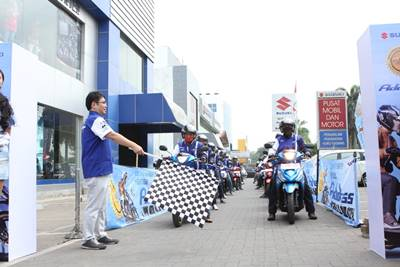 launching Suzuki address Livery Motogp 3