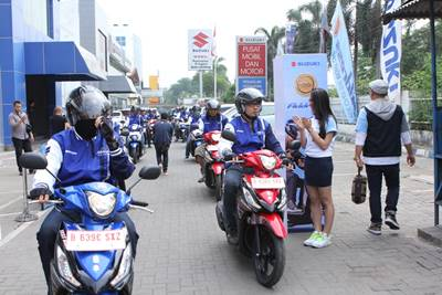 launching Suzuki address Livery Motogp 4