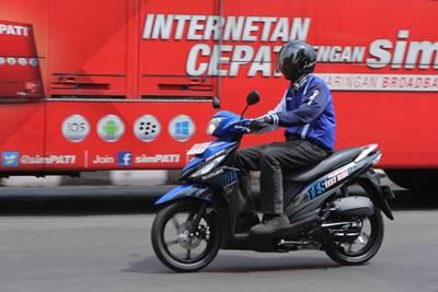 launching Suzuki address Livery Motogp 5