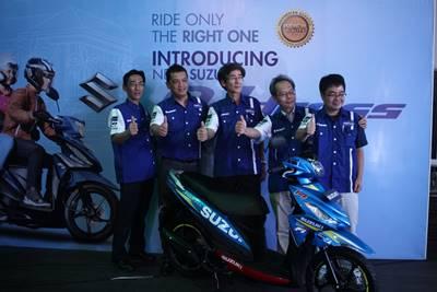 launching Suzuki address Livery Motogp 6