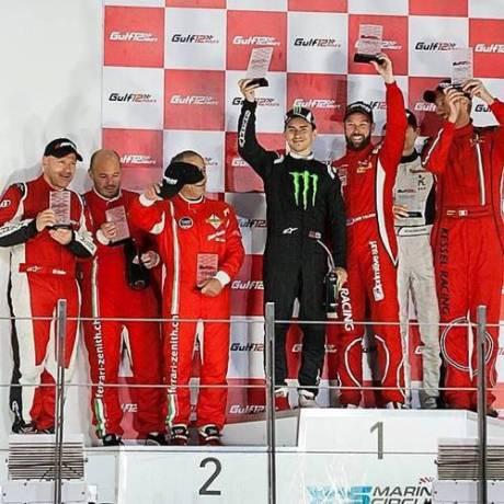 Lorenzo Naik  Ferrari 458  Juara Gulf 12 Hours bersama Kessel Racing 5