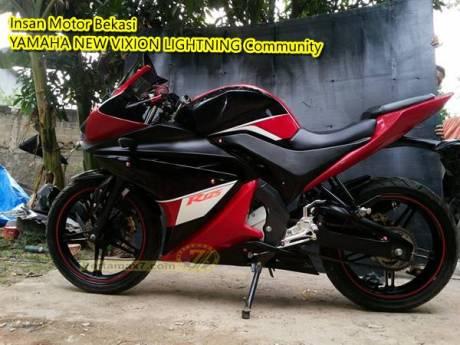 Modifikasi Yamaha New Vixion Lightning ala Yamaha R125 habis 6 juta Pertamax7.com 4