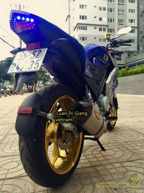 Modifikasi Yamaha New Vixion Vietnam pertamax7 3
