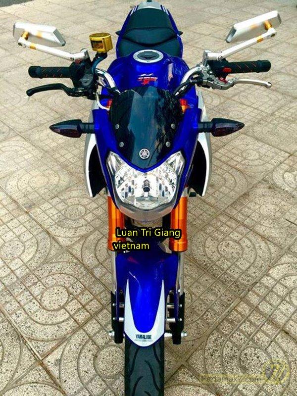 Modifikasi Yamaha New Vixion Oleh Bikers Vietnam Ini