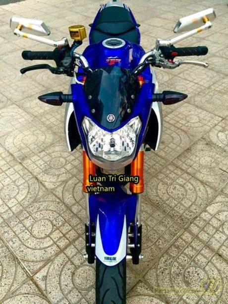 Modifikasi Yamaha New Vixion Vietnam pertamax7 4