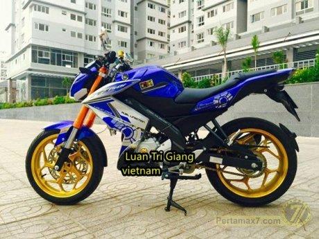 Modifikasi Yamaha New Vixion Vietnam pertamax7 5