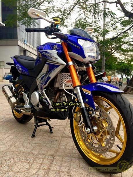 Modifikasi Yamaha New Vixion Vietnam pertamax7 6
