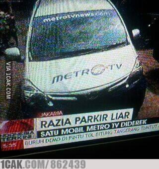 Panasnya TV one VS Metro TV