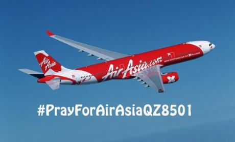 pray for airaisia QZ8501