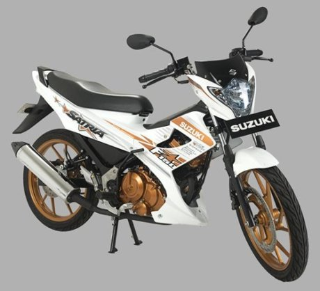 SATRIA White Fighter OK