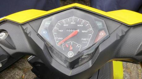 speedometer yamaha mio 125 blue core eco indicator