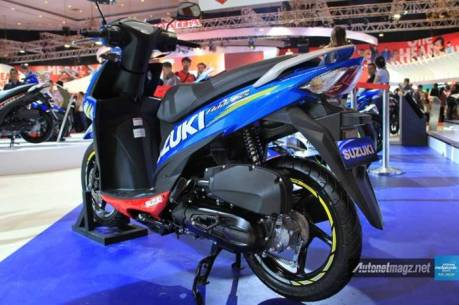 Suzuki Address livery Motogp Launching 4