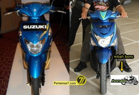 Suzuki Nex VS Honda beat POP ESP