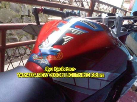 tangki yamaha new vixion penyok