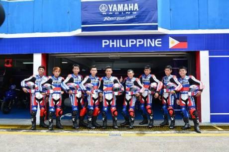 Tim Filipina di Yamaha Asean Cup Race 2014