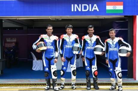 Tim India di Yamaha Asean Cup Race 2014