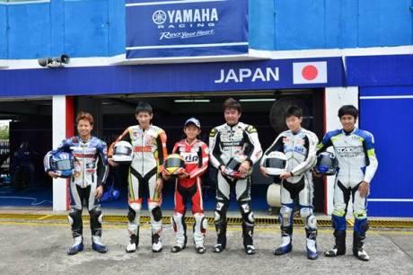 Tim Jepang di Yamaha Asean Cup Race 2014