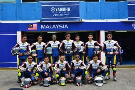 Tim Malaysia di Yamaha Asean Cup Race 2014