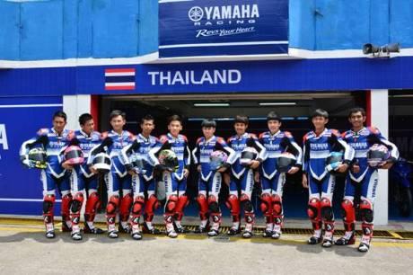Tim Thailand di Yamaha Asean Cup Race 2014