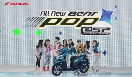 TVC HONDA BEAT POP ESP  with JKT48