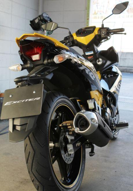 Yamaha Exciter 150 or Yamaha Jupiter MX king 150 yellow