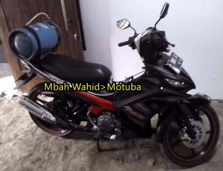Yamaha Jupiter MX bahan bakar Gas