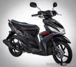 Yamaha Mio 125 cast-black