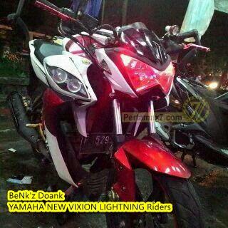 yamaha new vixion lightning pakai headlamp kawasaki Z250 replika ada hantunya