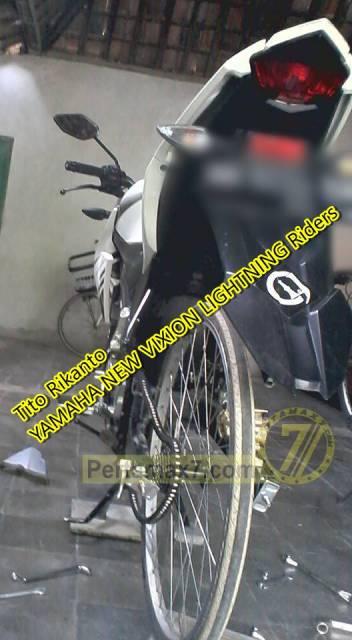 yamaha new vixion pakai ban sepeda ontel