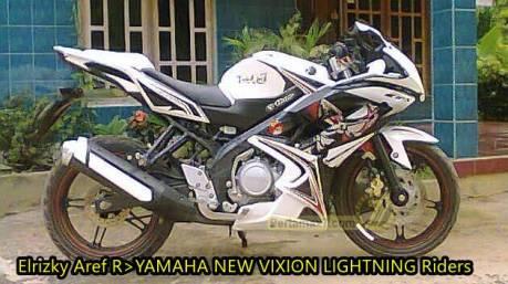 yamaha new vixion pakai fairing kawasaki ninja RR 1