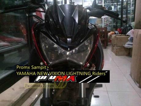 Yamaha New Vixion pakaii lampu kawasaki Z250 0