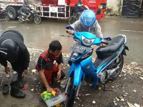 Yamaha Peduli Banjir Bandung (4)