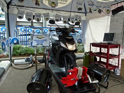 Yamaha Uji Mio M3 125 Nyala Nonstop 30 hari, tembus 60 km.liter diatas Dyotest 4